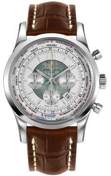 Breitling Transocean Chronograph Unitime Mens watch, model number - ab0510u0/a732-2cd, discount price of £7,530.00 from The Watch Source