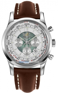 Breitling Transocean Chronograph Unitime Mens watch, model number - ab0510u0/a732-2lt, discount price of £7,130.00 from The Watch Source