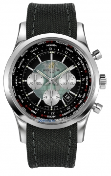 Breitling Transocean Chronograph Unitime Mens watch, model number - ab0510u4/bb62-1ft, discount price of £7,330.00 from The Watch Source