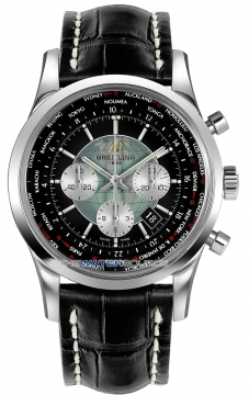 Breitling Transocean Chronograph Unitime Mens watch, model number - ab0510u4/bb62-1cd, discount price of £7,344.00 from The Watch Source