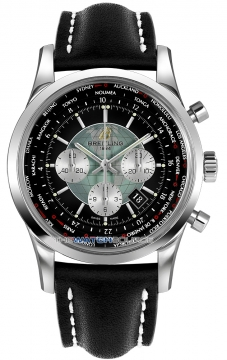 Breitling Transocean Chronograph Unitime Mens watch, model number - ab0510u4/bb62-1lt, discount price of £7,130.00 from The Watch Source