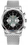 Breitling Transocean Chronograph Unitime ab0510u4/bb62-ss watch