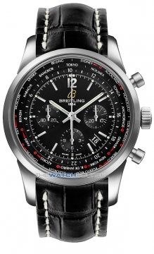 Breitling Transocean Chronograph Unitime Pilot Mens watch, model number - ab0510u6/bc26-1cd, discount price of £7,750.00 from The Watch Source