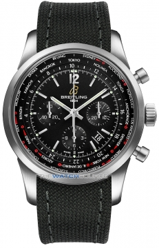 Breitling Transocean Chronograph Unitime Pilot Mens watch, model number - ab0510u6/bc26-1ft, discount price of £7,330.00 from The Watch Source