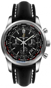 Breitling Transocean Chronograph Unitime Pilot Mens watch, model number - ab0510u6/bc26-1ld, discount price of £7,500.00 from The Watch Source