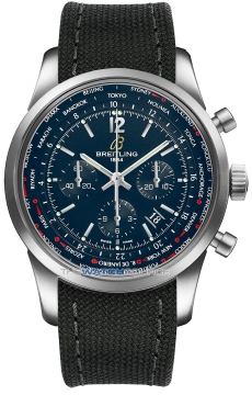 Breitling Transocean Chronograph Unitime Pilot Mens watch, model number - ab0510u9/c879-1ft, discount price of £7,330.00 from The Watch Source