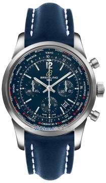 Breitling Transocean Chronograph Unitime Pilot Mens watch, model number - ab0510u9/c879-3ld, discount price of £7,500.00 from The Watch Source