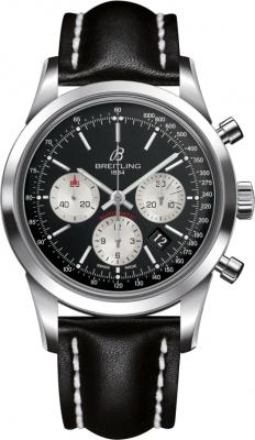 Breitling Transocean Chronograph 43mm ab015212/bf26/743p watch