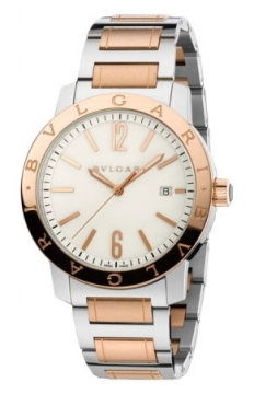 Bulgari BVLGARI BVLGARI Automatic 41mm Mens watch, model number - bb41wspgd, discount price of £6,982.00 from The Watch Source