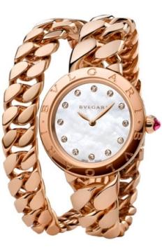 Bulgari BVLGARI BVLGARI Catene Quartz 31mm Ladies watch, model number - bbcp31wgg.2t/12, discount price of £26,411.00 from The Watch Source