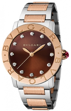 Bulgari BVLGARI BVLGARI Automatic 37mm Ladies watch, model number - bbl37c11spg/12, discount price of £6,080.00 from The Watch Source