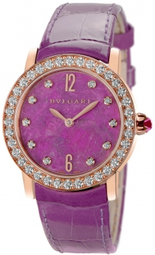 Bulgari BVLGARI BVLGARI Automatic 33mm Ladies watch, model number - bblp33rgdl/10, discount price of £15,907.00 from The Watch Source