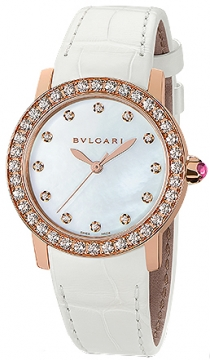 Bulgari BVLGARI BVLGARI Automatic 33mm Ladies watch, model number - bblp33wgdl/12, discount price of £13,310.00 from The Watch Source