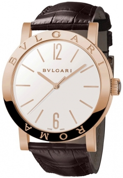 Bulgari BVLGARI BVLGARI Automatic 39mm Mens watch, model number - bbp39wgl/roma, discount price of £13,479.00 from The Watch Source