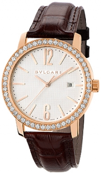 Bulgari BVLGARI BVLGARI Automatic 40mm Mens watch, model number - bbp40wgdld, discount price of £12,811.00 from The Watch Source