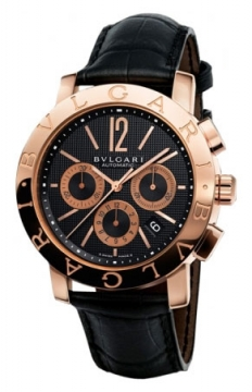 Bulgari BVLGARI BVLGARI Chronograph 42mm Mens watch, model number - bbp42bpgldch, discount price of £12,871.00 from The Watch Source