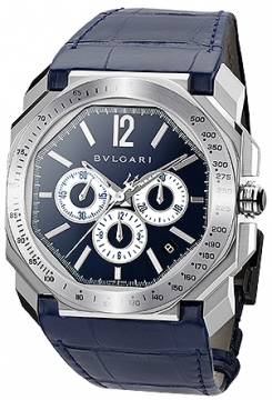Bulgari Octo VELOCISSIMO Chronograph 41mm Mens watch, model number - bgo41c3sldch/mas, discount price of £7,104.00 from The Watch Source
