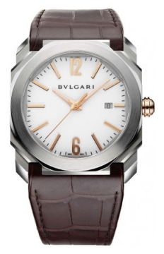 Bulgari Octo Automatic 41mm Mens watch, model number - bgo41wsld, discount price of £5,555.00 from The Watch Source