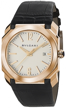 Bulgari Octo Automatic 38mm Mens watch, model number - bgop38wgld, discount price of £12,160.00 from The Watch Source