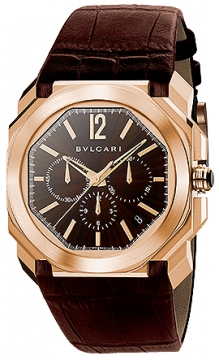 Bulgari Octo VELOCISSIMO Chronograph 41mm Mens watch, model number - bgop41c11gldch, discount price of £16,160.00 from The Watch Source