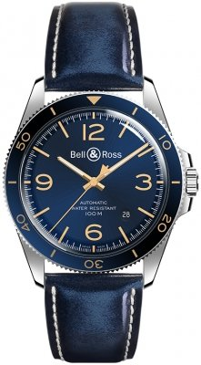 Bell & Ross BR V2-92 BRV292-BU-G-ST/SCA watch