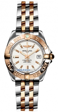 Breitling Galactic 32 Ladies watch, model number - c71356L2/g704-tt, discount price of £4,690.00 from The Watch Source