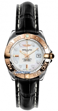 Breitling Galactic 32 Ladies watch, model number - c71356L2/a712-1ct, discount price of £3,630.00 from The Watch Source