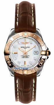 Breitling Galactic 32 Ladies watch, model number - c71356L2/a712-2cd, discount price of £3,790.00 from The Watch Source