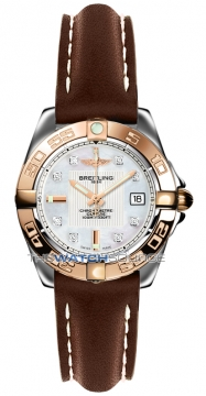 Breitling Galactic 32 Ladies watch, model number - c71356L2/a712-2lt, discount price of £3,390.00 from The Watch Source