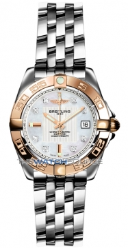 Breitling Galactic 32 Ladies watch, model number - c71356L2/a712-ss, discount price of £4,180.00 from The Watch Source