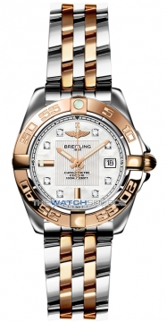 Breitling Galactic 32 Ladies watch, model number - c71356L2/a712-tt, discount price of £5,120.00 from The Watch Source