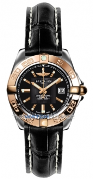 Breitling Galactic 32 Ladies watch, model number - c71356L2/ba12-1ct, discount price of £3,220.00 from The Watch Source