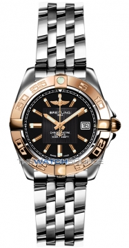 Breitling Galactic 32 Ladies watch, model number - c71356L2/ba12-ss, discount price of £3,760.00 from The Watch Source