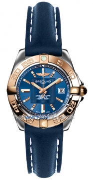 Breitling Galactic 32 Ladies watch, model number - c71356L2/c813-3ld, discount price of £2,830.00 from The Watch Source