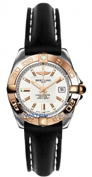 Breitling Galactic 32 Ladies watch, model number - c71356L2/g704-1ld, discount price of £2,990.00 from The Watch Source