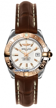 Breitling Galactic 32 Ladies watch, model number - c71356L2/g704-2ct, discount price of £3,220.00 from The Watch Source