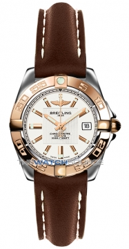 Breitling Galactic 32 Ladies watch, model number - c71356L2/g704-2lt, discount price of £2,980.00 from The Watch Source