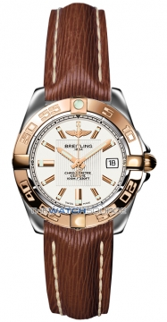 Breitling Galactic 32 Ladies watch, model number - c71356L2/g704-2lts, discount price of £2,980.00 from The Watch Source