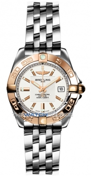Breitling Galactic 32 Ladies watch, model number - c71356L2/g704-ss, discount price of £3,760.00 from The Watch Source