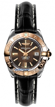 Breitling Galactic 32 Ladies watch, model number - c71356L2/q581-1ct, discount price of £3,190.00 from The Watch Source