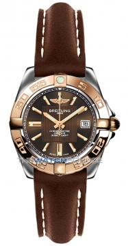Breitling Galactic 32 Ladies watch, model number - c71356L2/q581-2ld, discount price of £3,130.00 from The Watch Source