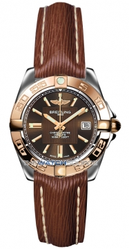 Breitling Galactic 32 Ladies watch, model number - c71356L2/q581-2lts, discount price of £2,980.00 from The Watch Source