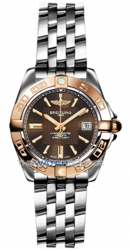 Breitling Galactic 32 Ladies watch, model number - c71356L2/q581-ss, discount price of £3,760.00 from The Watch Source
