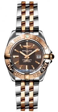 Breitling Galactic 32 Ladies watch, model number - c71356L2/q581-tt, discount price of £4,690.00 from The Watch Source