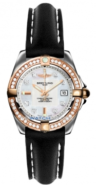 Breitling Galactic 32 Ladies watch, model number - c71356LA/a712-1ld, discount price of £5,560.00 from The Watch Source