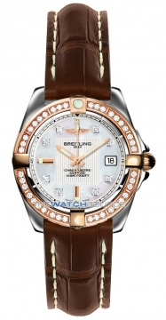 Breitling Galactic 32 Ladies watch, model number - c71356LA/a712-2ct, discount price of £5,630.00 from The Watch Source
