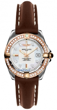 Breitling Galactic 32 Ladies watch, model number - c71356LA/a712-2ld, discount price of £5,560.00 from The Watch Source