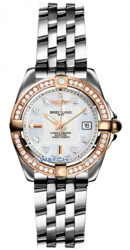 Breitling Galactic 32 Ladies watch, model number - c71356LA/a712-ss, discount price of £6,180.00 from The Watch Source