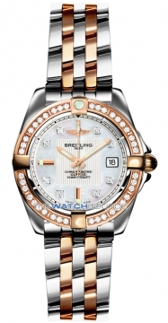 Breitling Galactic 32 Ladies watch, model number - c71356LA/a712-tt, discount price of £7,490.00 from The Watch Source