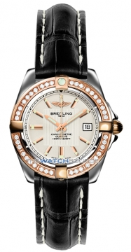 Breitling Galactic 32 Ladies watch, model number - c71356LA/g704-1cd, discount price of £5,390.00 from The Watch Source